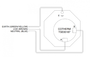 Cotherm TS00187 Wiring